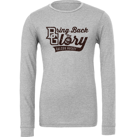 BGSU Bring Back the Glory Hockey Long Sleeve T-Shirt