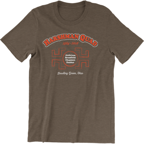 BGSU Harshman Quad Dorm T-Shirt