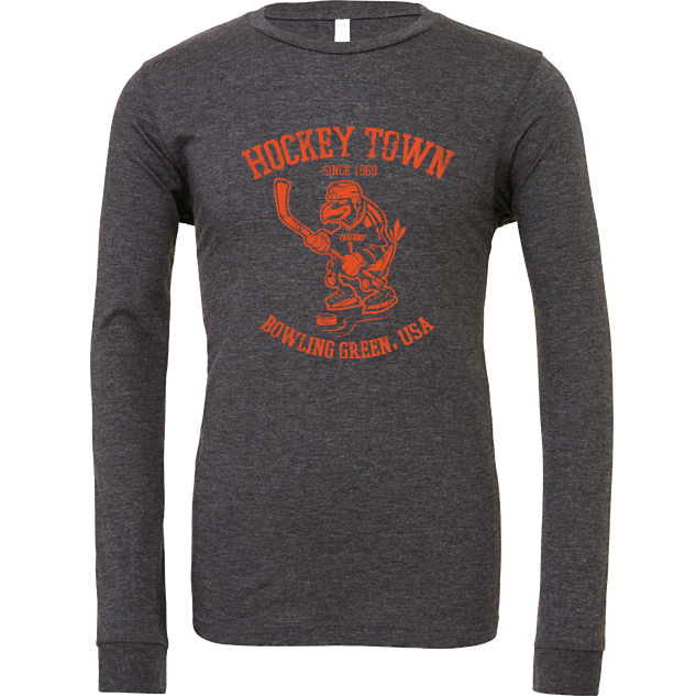 BGSU Hockey Town Long Sleeve T-Shirt