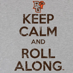 BGSU Falcons Keep Calm and Roll Along Youth T-Shirt