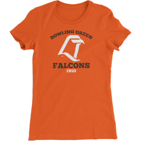 BGSU Vintage LT Logo Woman's Slim Fit T-Shirt