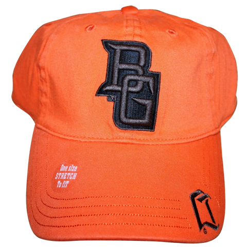 Vintage BGSU Logo Fitted Stretch Flex Cap (LIMITED STOCK)