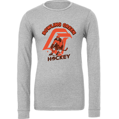 BGSU Falcons Hockey Vintage Logo Long Sleeve T-Shirt