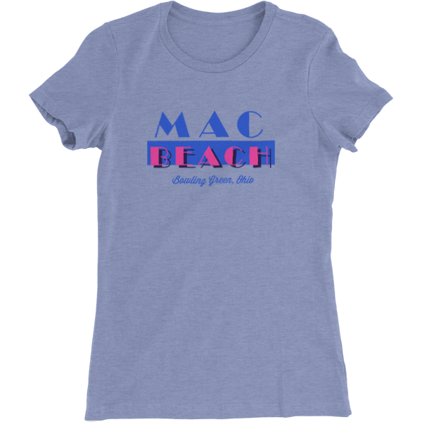 MAC Beach Bowling Green Ladies Slim Fit T-Shirt