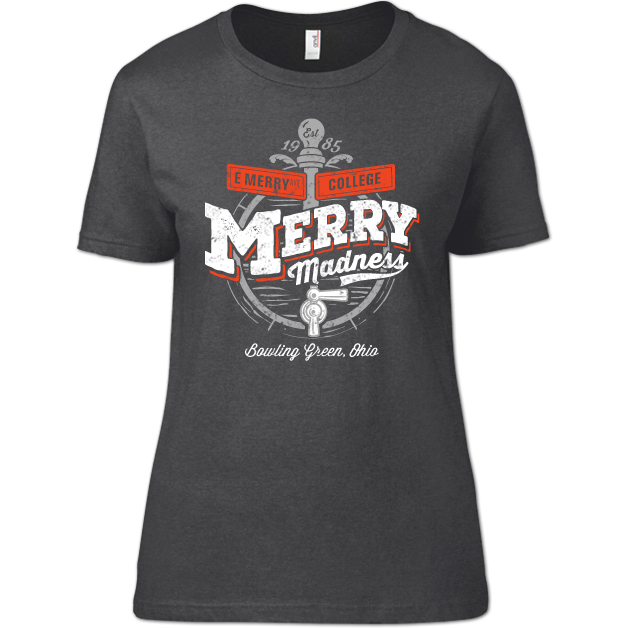 Bowling Green Merry Madness Woman's T-Shirt