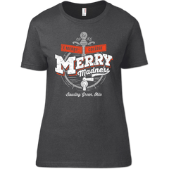 Jama Re-Order Bowling Green Merry Madness Woman's T-Shirt