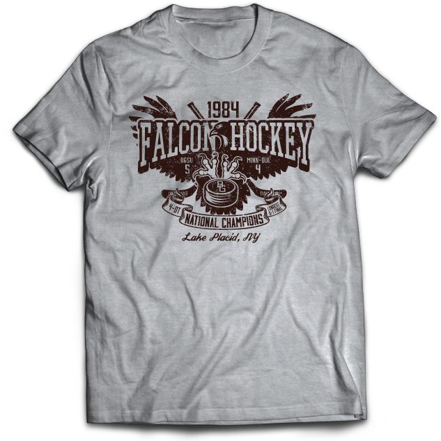BGSU 1984 NCAA Hockey National Championship T-Shirt