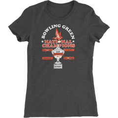 Bowling Green Rugby National Champions Ladies Slim Fit T-Shirt