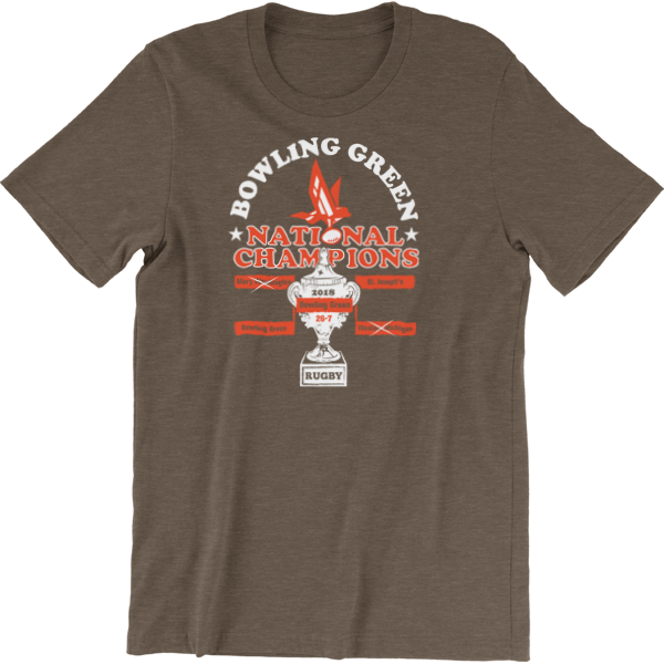 Bowling Green Rugby National Champions T-Shirt