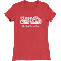 Bowling Green SamB's Restaurant Ladies Slim Fit T-Shirt