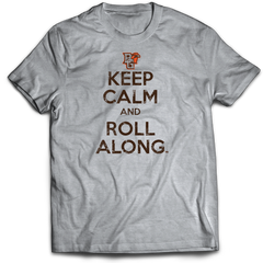 BGSU Keep Calm Roll Along T-Shirt