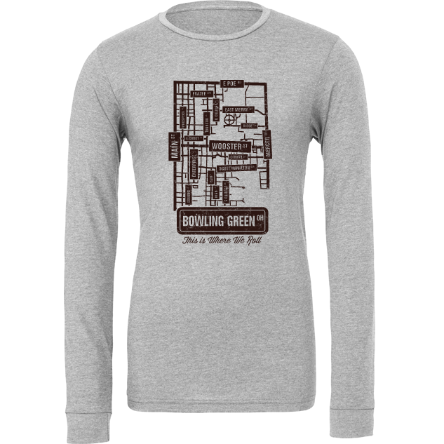 The Streets of Bowling Green Long Sleeve T-Shirt