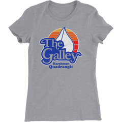 BGSU The Galley - Harshman Quad Ladies Slim T-Shirt