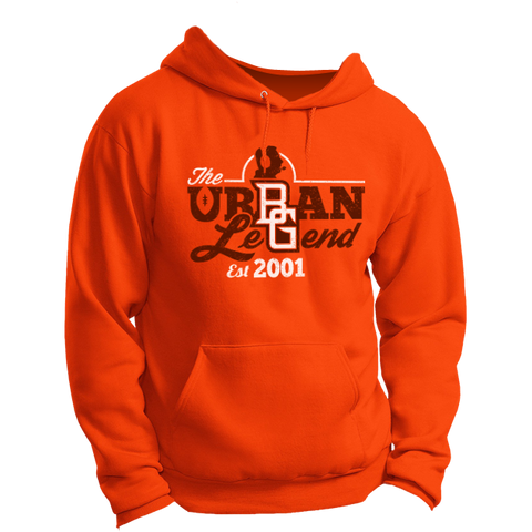 BGSU Urban Meyer - The Urban Legend Logo Hoodie (Gildan)
