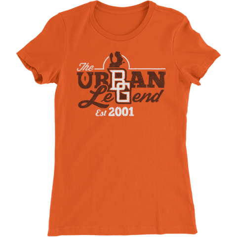 (PRE-SELL) BGSU Urban Meyer - The Urban Legend Ladies Slim Fit T-Shirt
