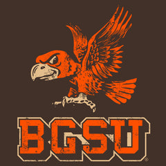 BGSU Falcons Vintage Woman's T-Shirt