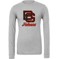BGSU 1960's Inspired Vintage Logo Long Sleeve T Shirt