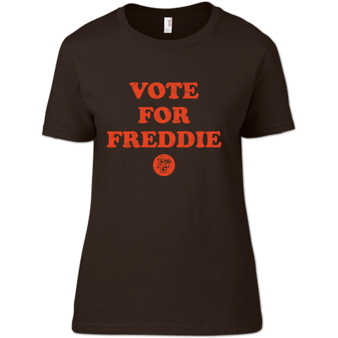 BGSU Falcons Vote for Freddie Ladies Slim Fit T-Shirt