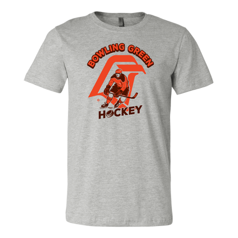 BGSU Falcons Hockey Vintage Logo T-Shirt
