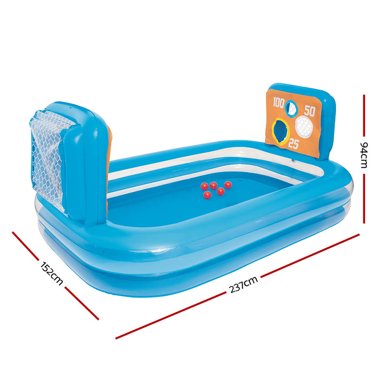 Bestway Inflatable Kids Pool Skill Shot Swimming Paddling Pool Ball Pit Game Toy