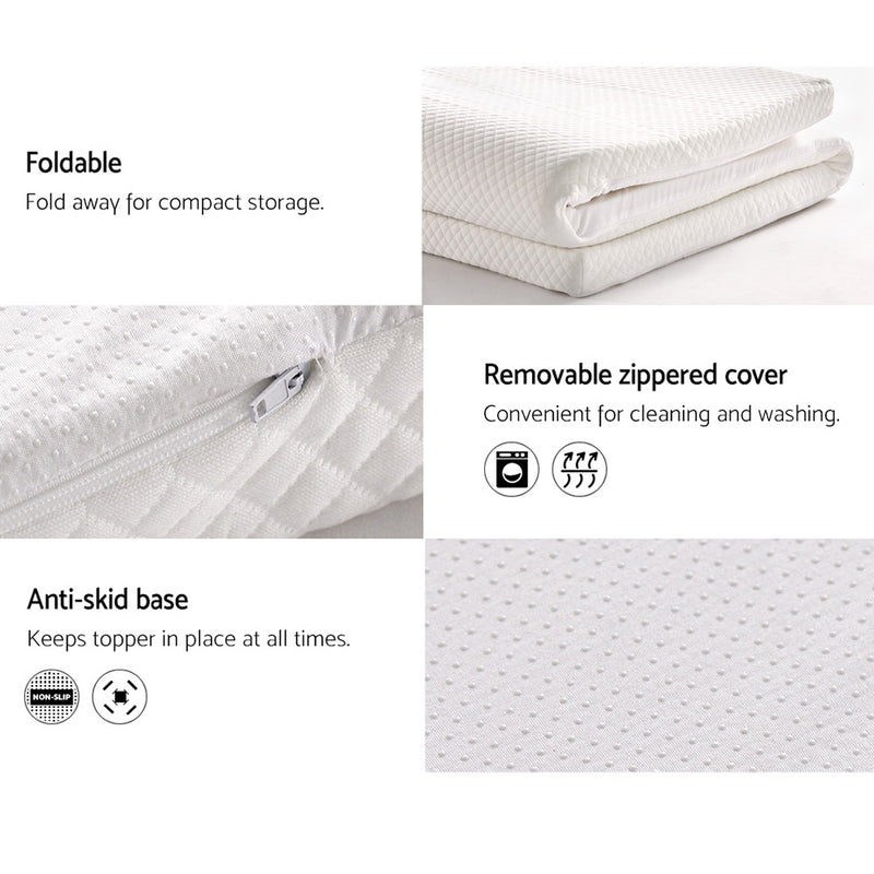 King Size Memory Foam Mattress Topper
