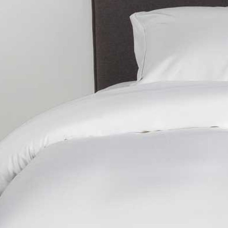 Better Dream Organic Bamboo Duvet Cover Set A White.
