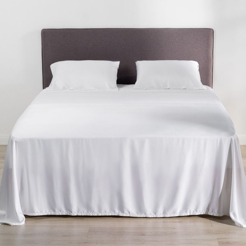 Better Dream 100% Organic Bamboo Flat Sheet A White