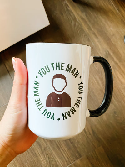 "Empauer ""you are the man"" mug"