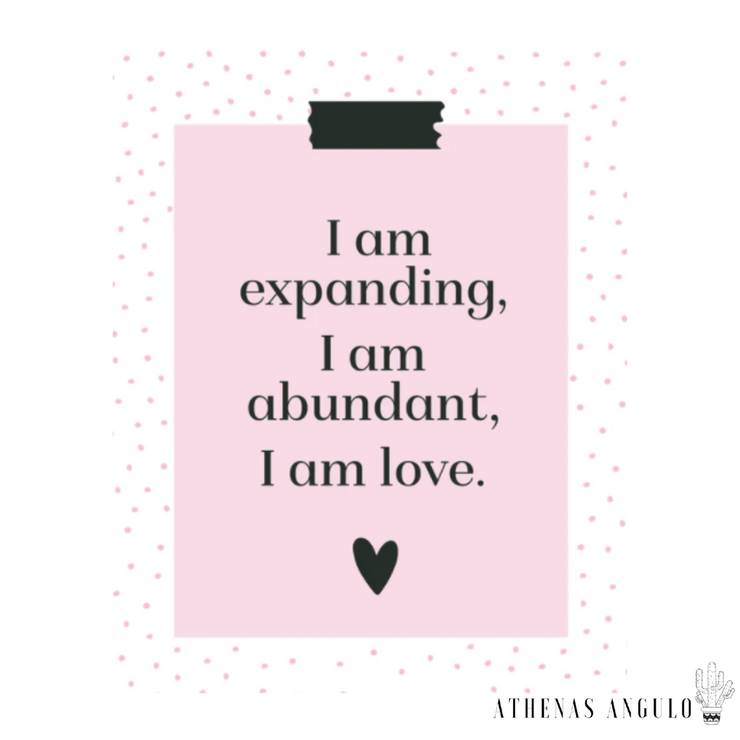 I am Expanding - AA Love Language Collection by Kyla Getty