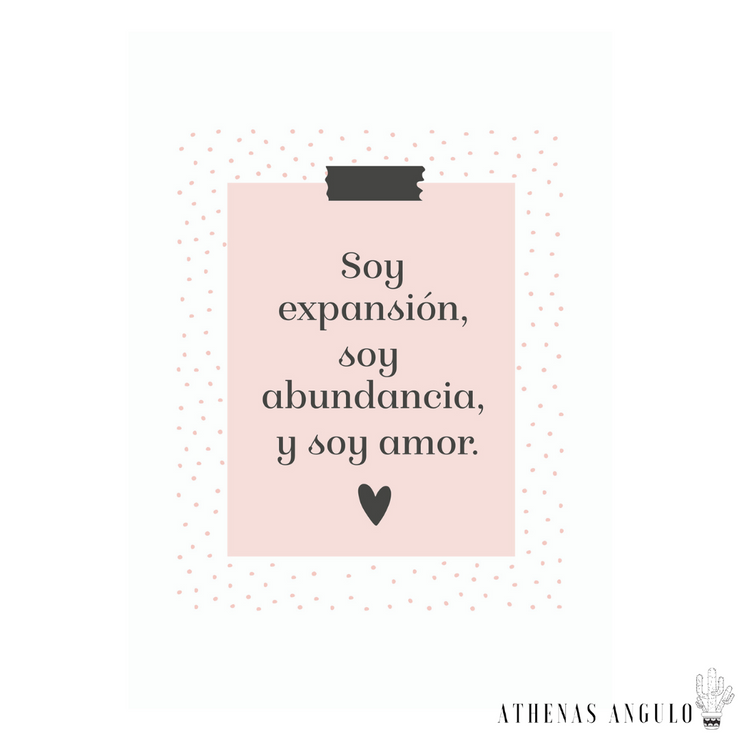Soy Expansión - Athenas Angulo Love Collection by Kyla Getty