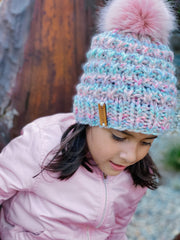 IMP WOOLDESIGNS X Athenas Angulo -Girls Pom Pom Hat