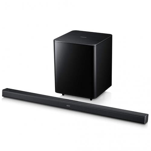 HWF550 2.1 CHANNEL SOUNDBAR SYSTEM WIRELESS SUBWOOFER