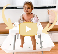 Load and play video in Gallery viewer, Catchy - the high chair food catcher
