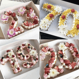 Number Letter cakes