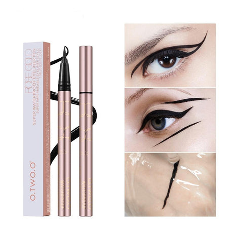 O.TWO.O EYELINER LIQUIDE WATERPROOF (MAKEUP OEIL DE CHAT)