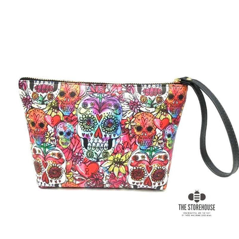 👛 Bag: Watercolor Skulls