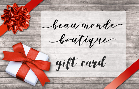 🎁 THIS BEAU MONDE BOUTIQUE GIFT CARD