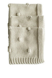 Bianca Lorenne Knitted Washcloth - Oatmeal