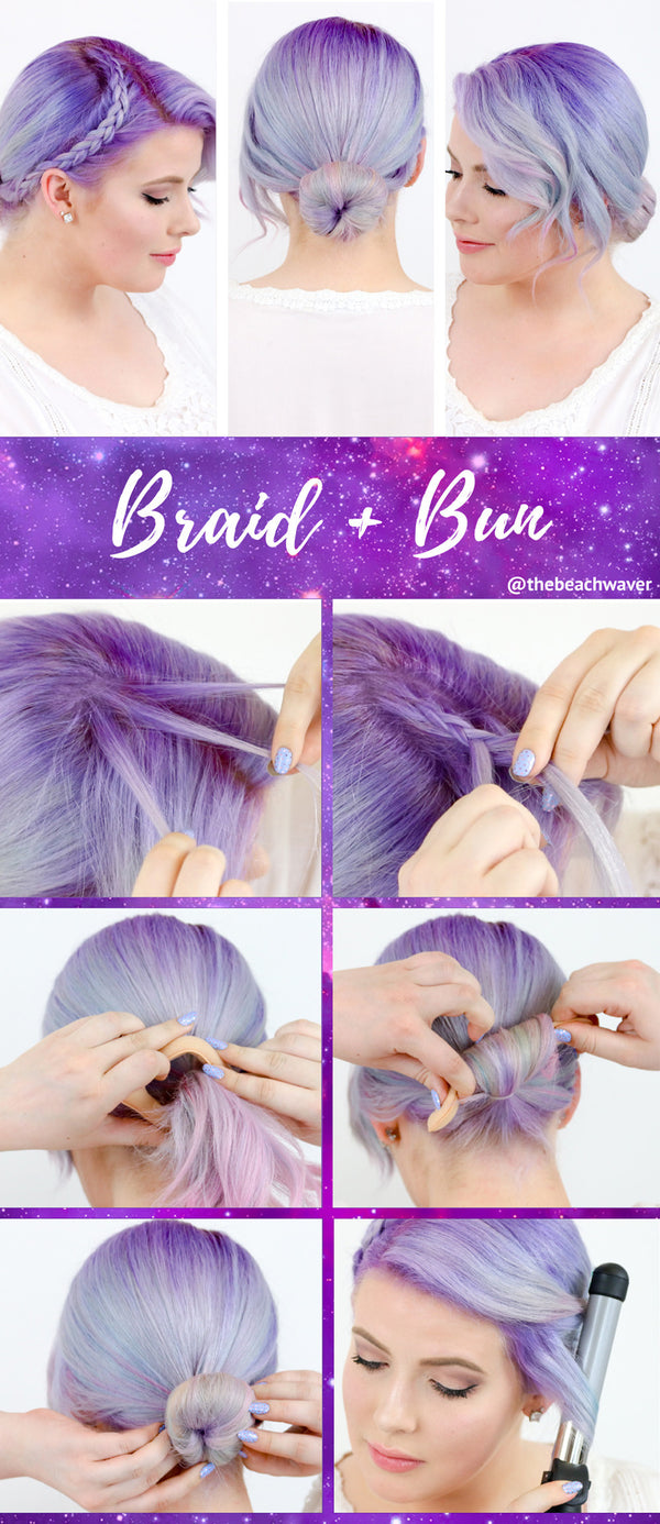 How To: Braid and Bun