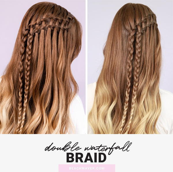 How-To: Double Waterfall Braid