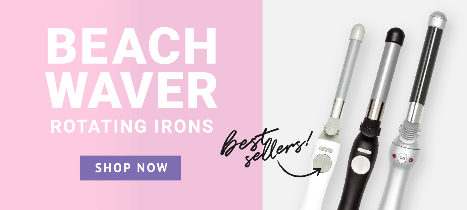 Beachwaver rotating curling irons. Shop now.