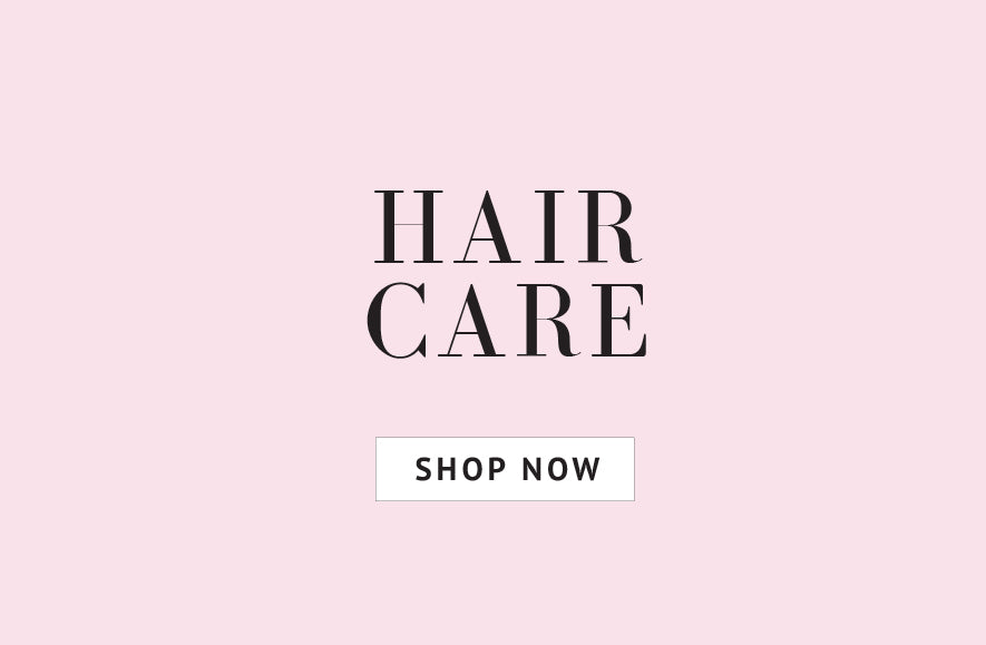 Haircare essentails. Shop now.