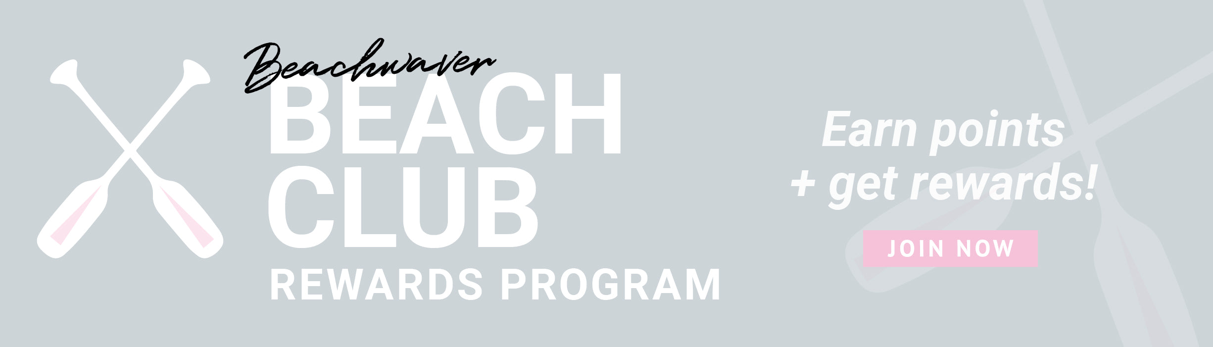 Beachwaver Beach Club Rewards Program! Earn points + get rewards! Join Now!
