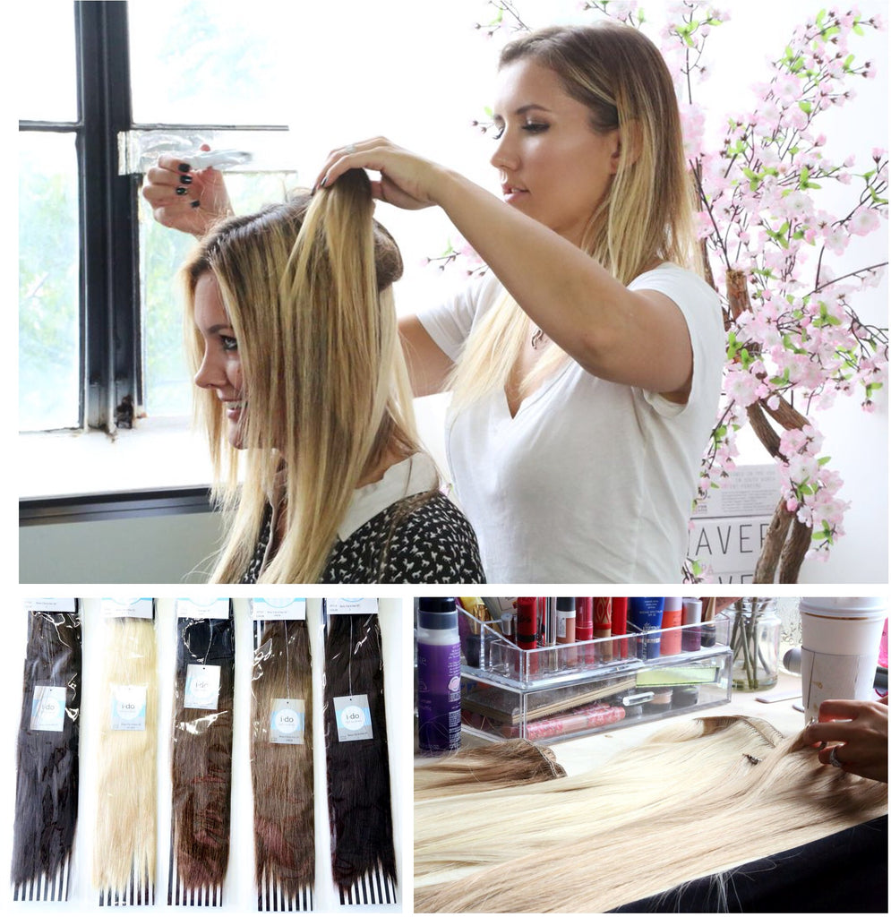 Lacy From Laced Hair Extentions Visited Our Office So That We Could
