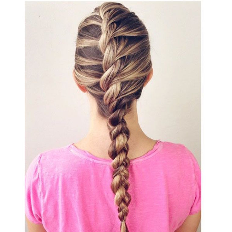 Braid inspiration the beachwaver co i love finding different variations of the french braid this style only uses two strands sarah potempa ccuart Gallery