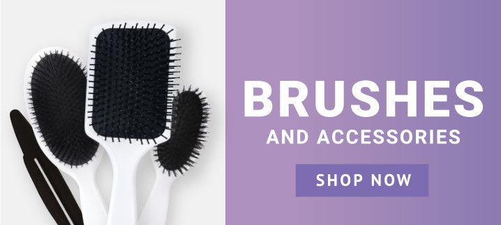 Brushes and accessories. Shop now.