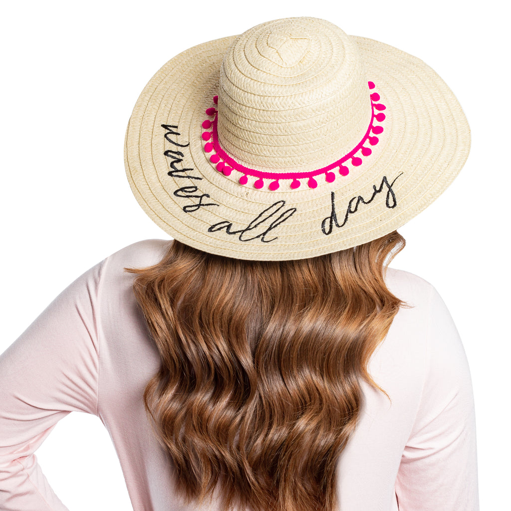 Waves All Day Beach Hat - The Beachwaver Co.