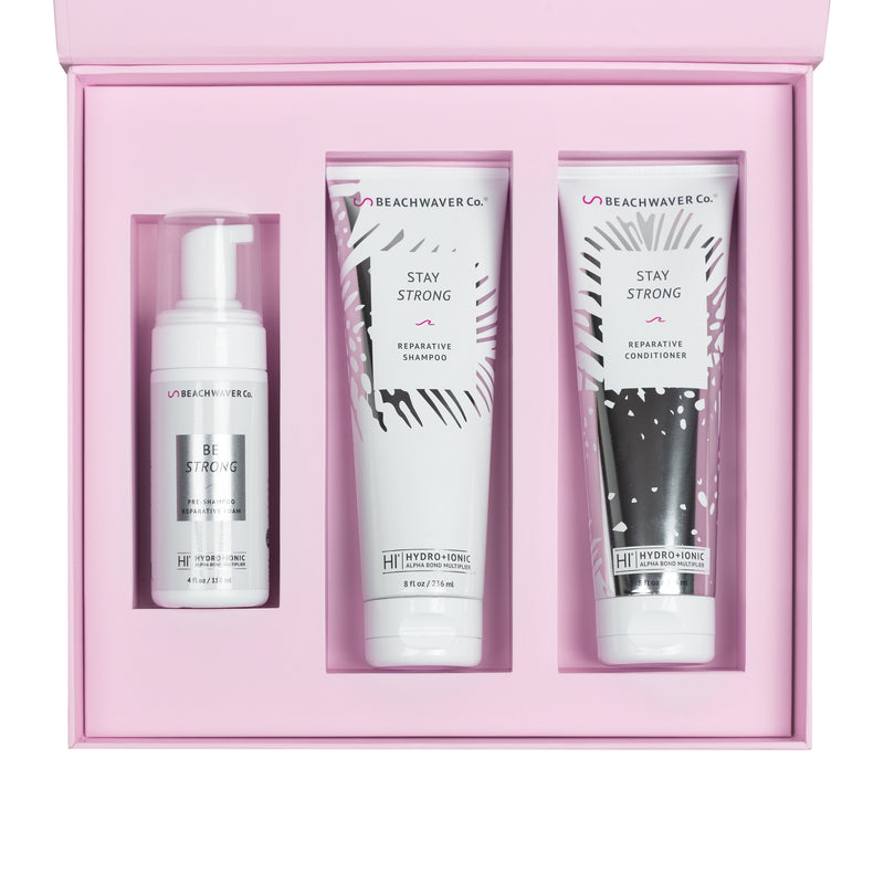 Stay Strong Reparative Gift Set - The Beachwaver Co.