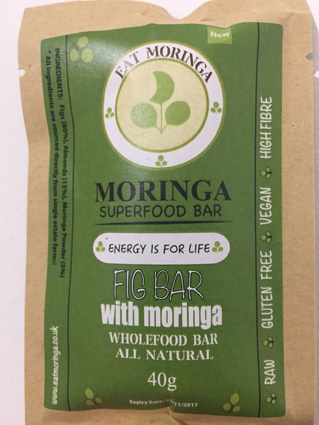 New Eat Moringa Fig Bar!