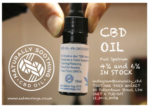CBD Oil (6% Full Spectrum)